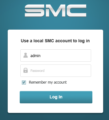 01 - SMC log in