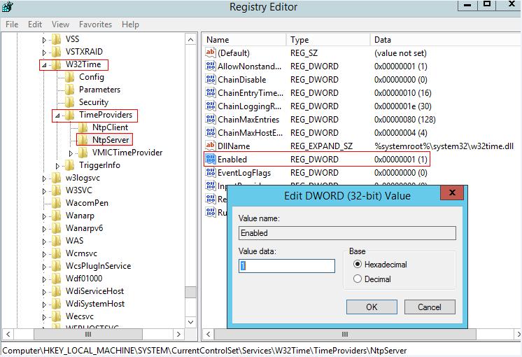Configure Windows server as NTP server - Huawei Enterprise