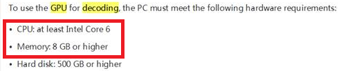 Comment effectuer le paramétrage du décodage GPU sur l'ordinateur client-2921815-2