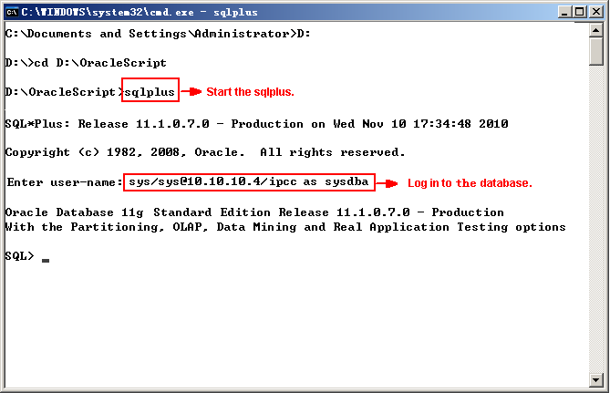 CC - Loading Oracle scripts - Image 3