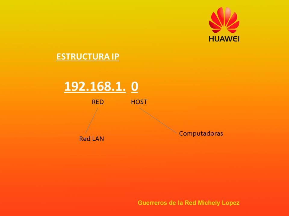 Imagen 2. Estructura IP
