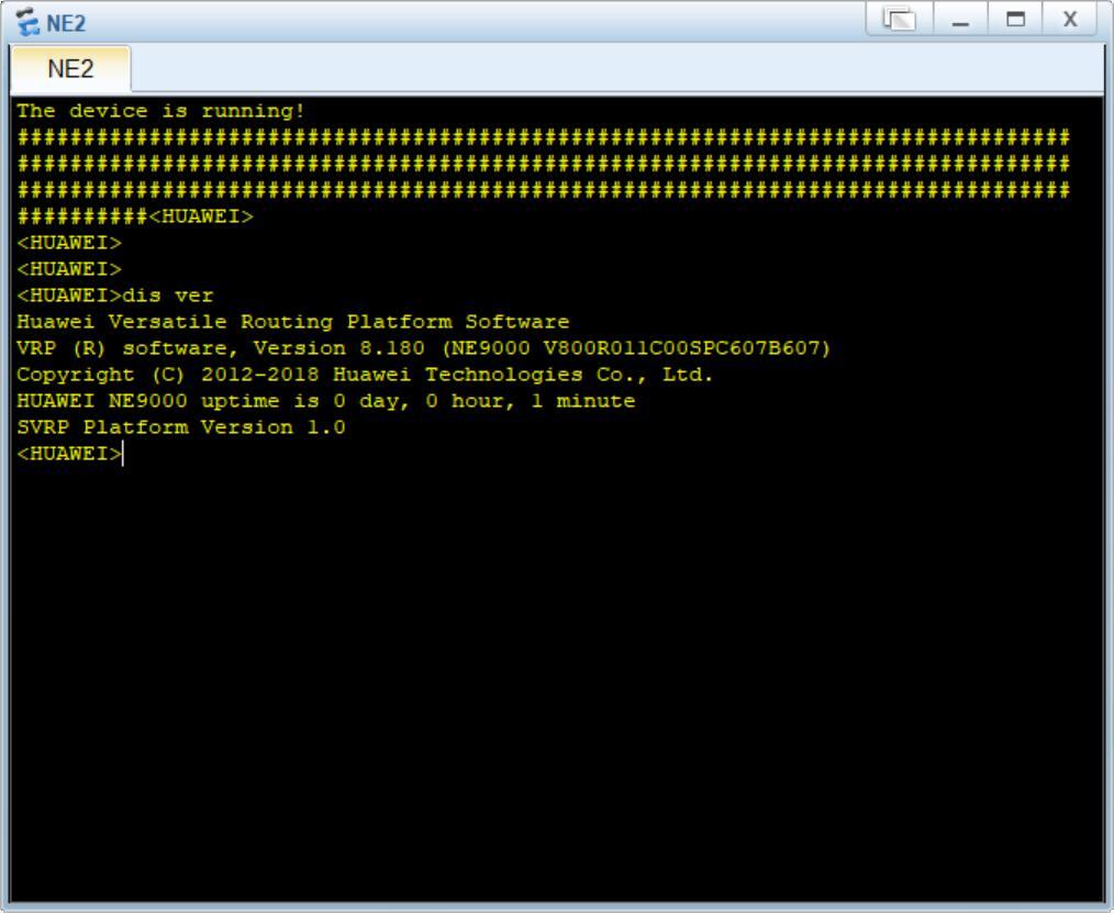 Windows 10 1809版本与eNSP V100R003C00完美运行测试之路-2879789-11