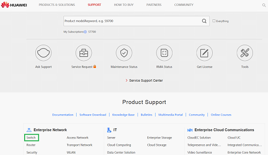 How Do I download  hdx files? - Huawei Enterprise Support